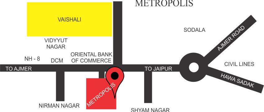 Metropolis - Manglam Group Flats in Jaipur