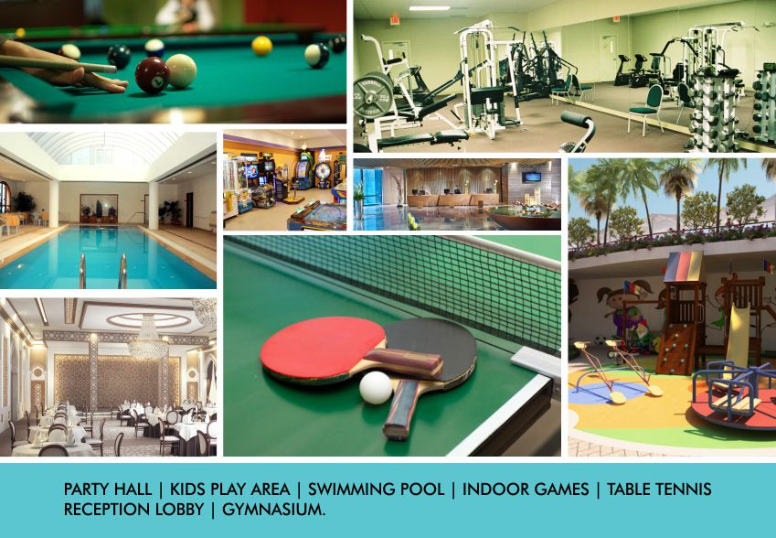 The Grand Residency AMENITIES