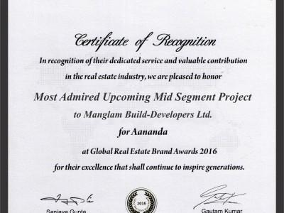 Award - Manglam Group