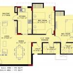Manglam's Riva Senior Citizen Floor Plan