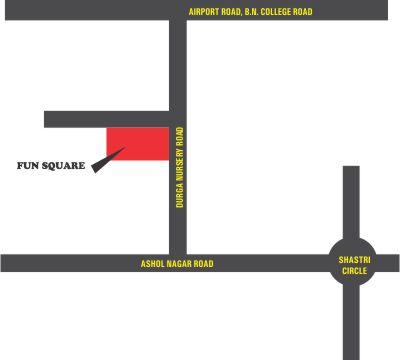 Fun Square Mall Location Map
