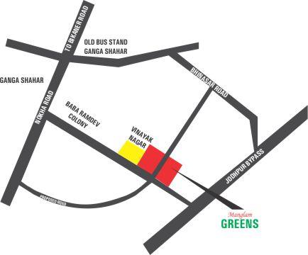 Location-Map-Manglam-Greens-Bikaner