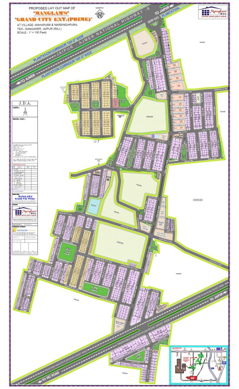 Manglam Grand city