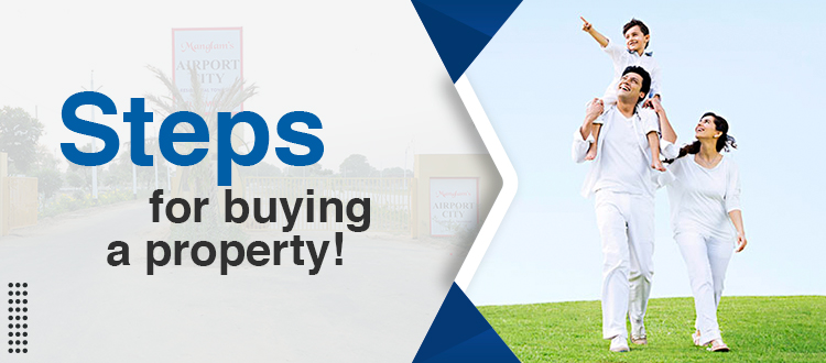 Steps for buying a property!